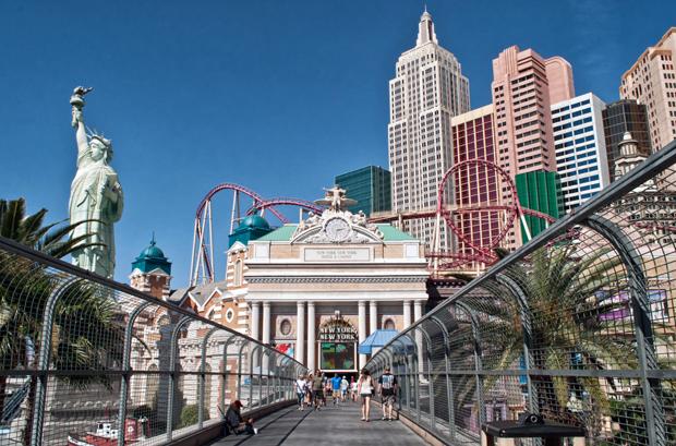 New York New York casino, Las Vegas Nevada USA