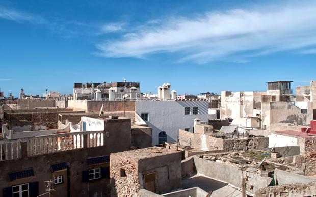 Rooftop views from Riad Dar Maya, Essaouira, Morocco