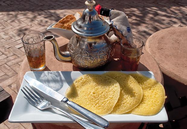 Breakfast at Riad Capaldi , Marrakech