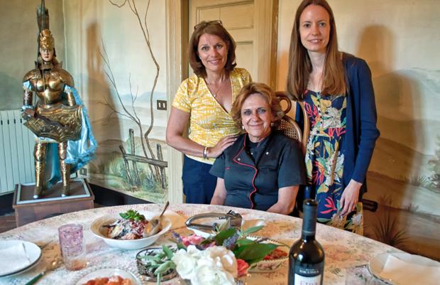 Cookery class, Catania, Sicily