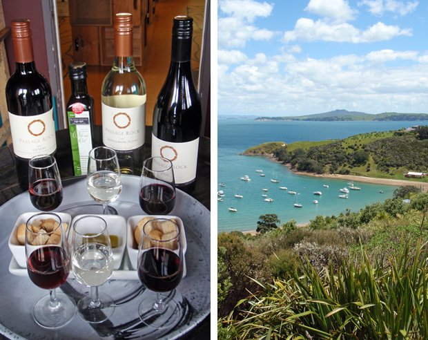 Wine tasting, Waiheke Island near Auckland, New Zealand