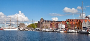 Bergen harbour, Norway