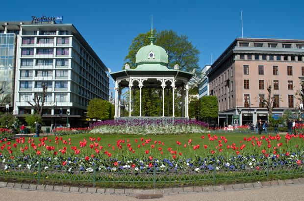 Park in Bergen, Norway