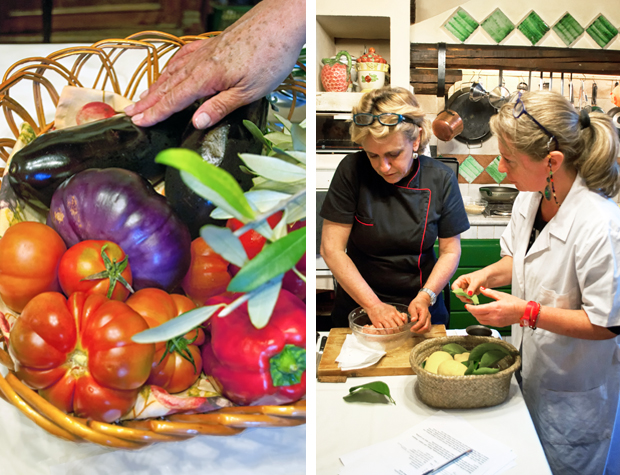 Sicilian cookery class in Catania
