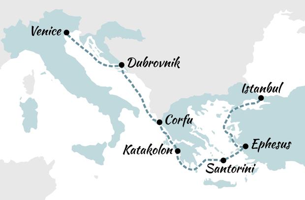 Celebrity Cruises Venice To Istanbul Cruise