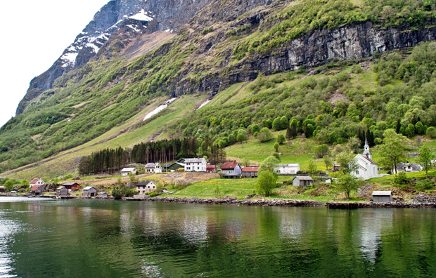 Bakka on the Sognefjord, Norway