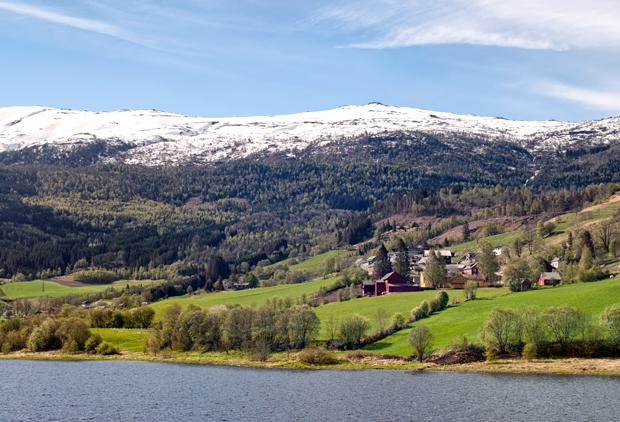 Views from the Bergen-Myrdal train