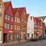 Bryggen old town in Bergen, Norway
