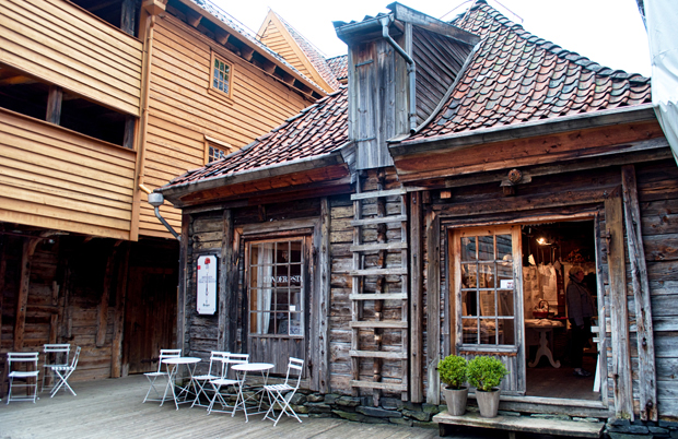 Shop in Bryggen, Bergen Norway
