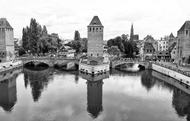 Strasbourg's canals and convered bridges