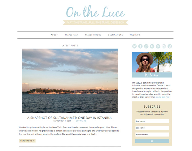 New design for On the Luce