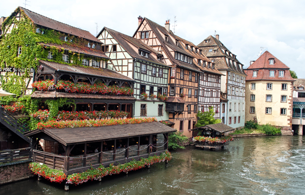 Strasbourg's historic Petite-France district
