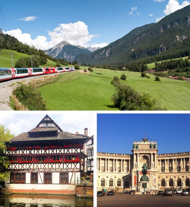 Across Europe by rail