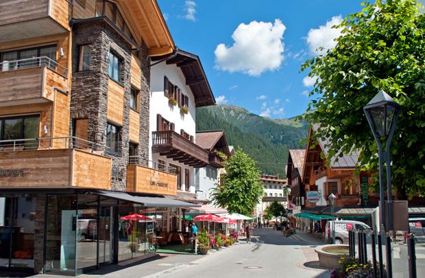 St Anton am Arlberg, Austrian Tyrol