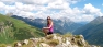 On the mountains in St Anton am Arlberg, Austrian Tyrol