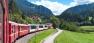 Swiss scenic trains