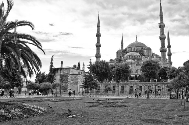 The Blue Mosque in Sultanahmet, Istanbul