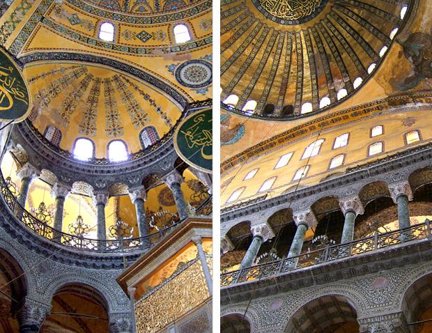 The Hagia Sophia in Sultanahmet, Istanbul