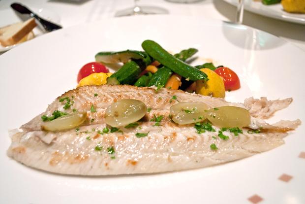 Dinner in Murano restaurant on Celebrity Equinox