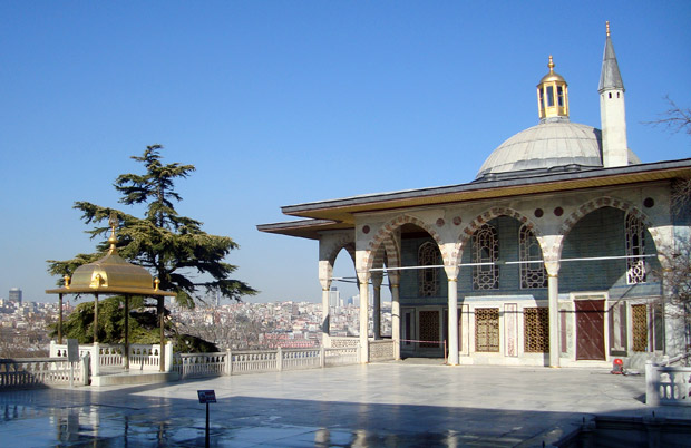The Topkapi Palace in Sultanahmet, Istanbul